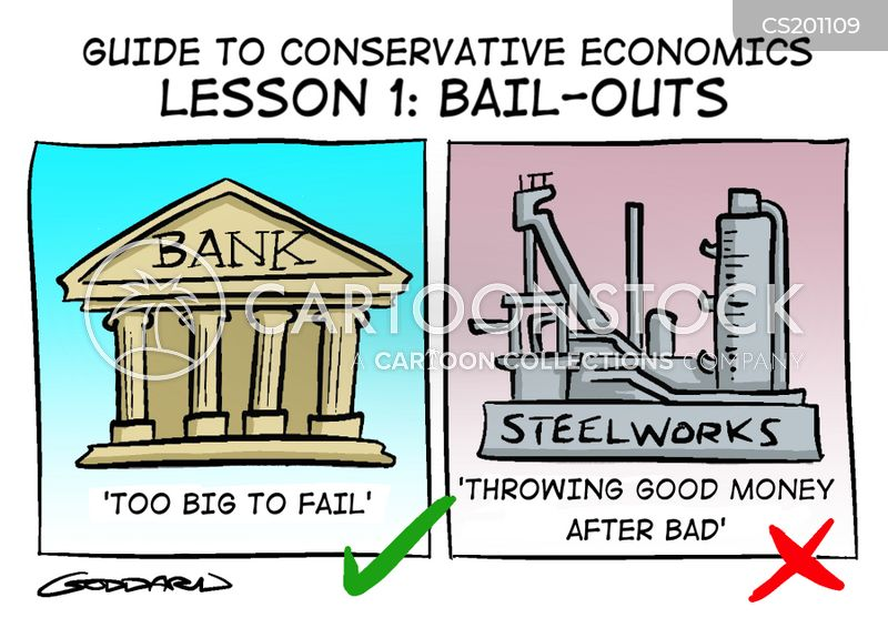 economic policies cartoon