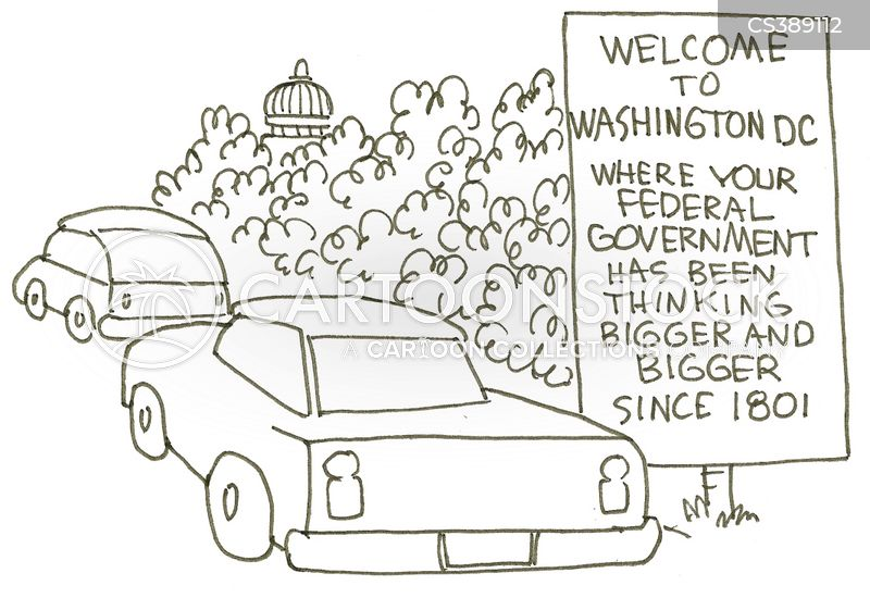 federal governments cartoon