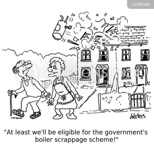 government scheme cartoon