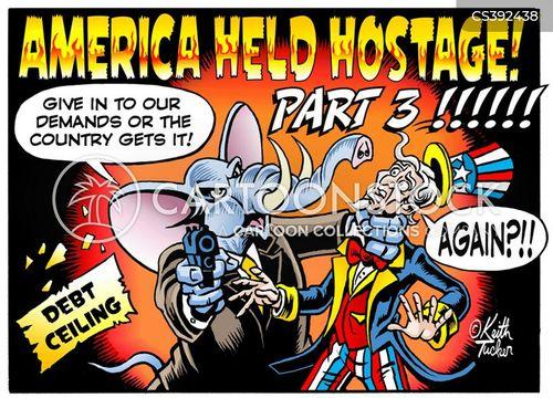 government shutdowns cartoon
