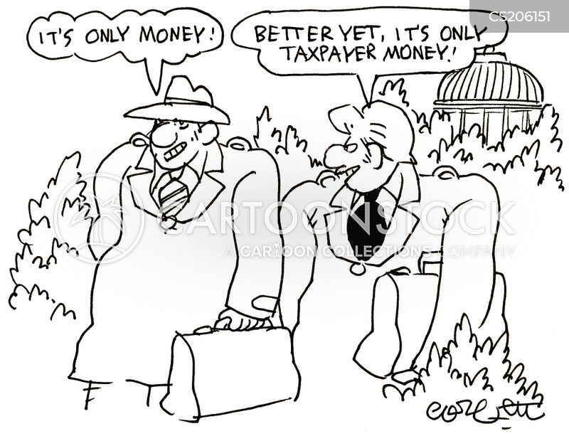 taxpayers money cartoon