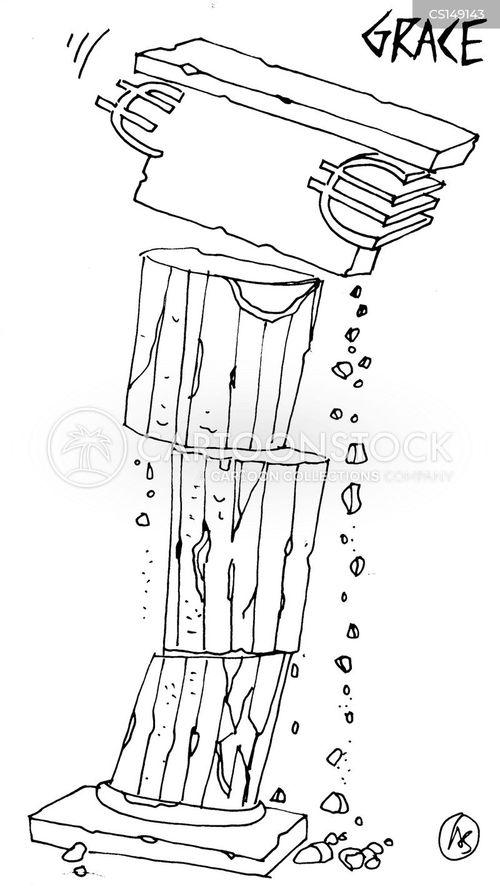 pillar cartoon