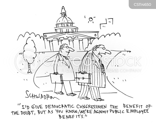 benefit of the doubt cartoon