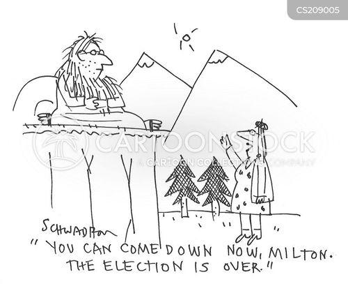 retreats cartoon