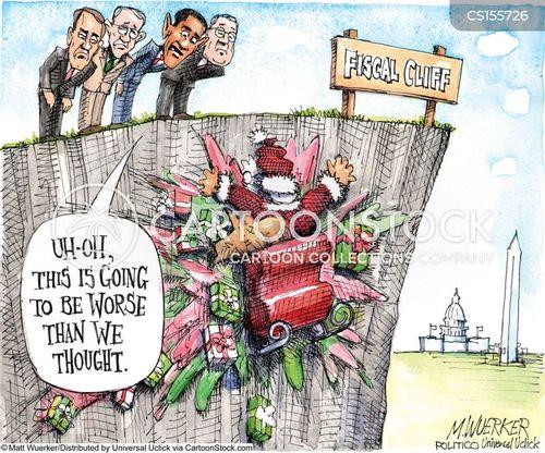 debt ceilings cartoon