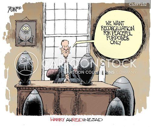 peace time cartoon