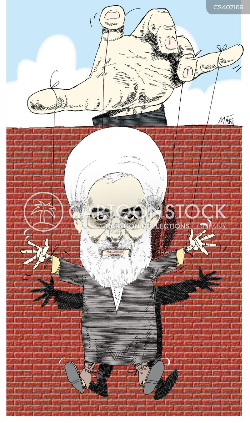 hassan rouhani cartoon