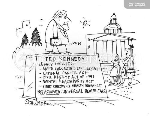 ted kennedy cartoon