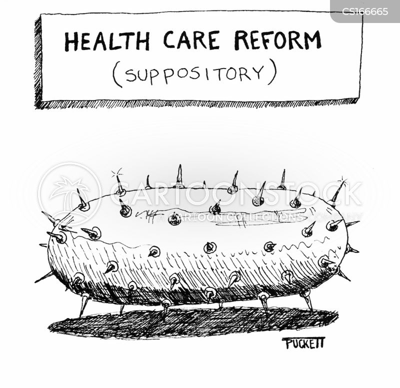 healthcare reforms cartoon