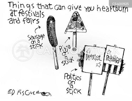 heartburn cartoon