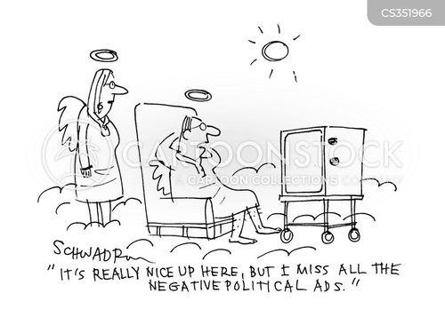 campaign tactics cartoon