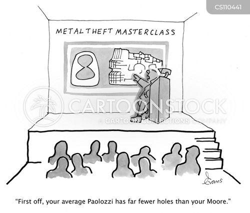 stolen art cartoon
