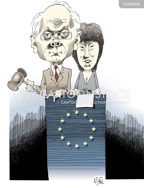 european leaders cartoon
