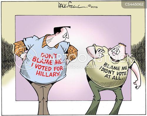 non-voter cartoon