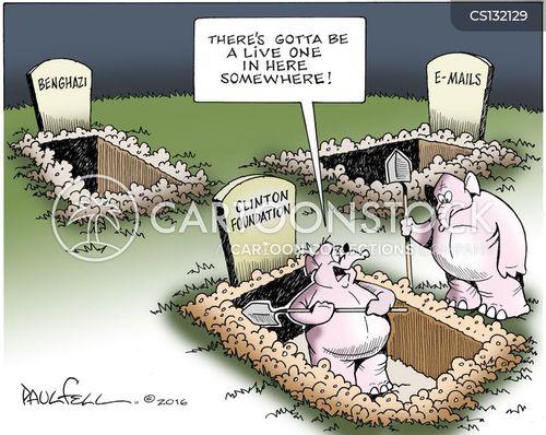 benghazi controversy cartoon