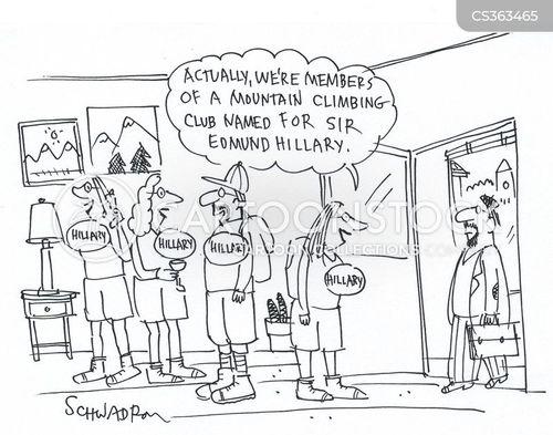 campaingers cartoon