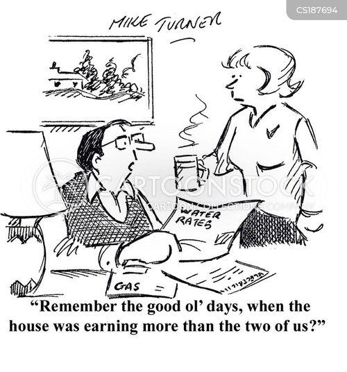 house price cartoon