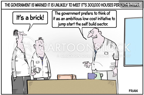 housing crises cartoon