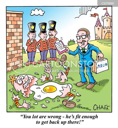 benefits assessment cartoon