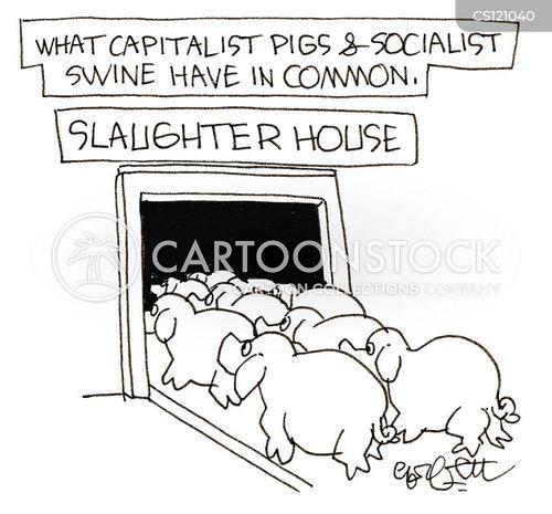 ideological cartoon
