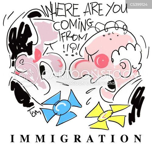 country of origin cartoon