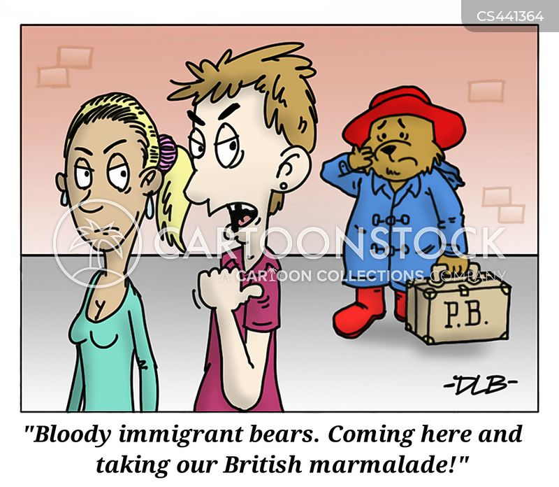 immigration crisis cartoon