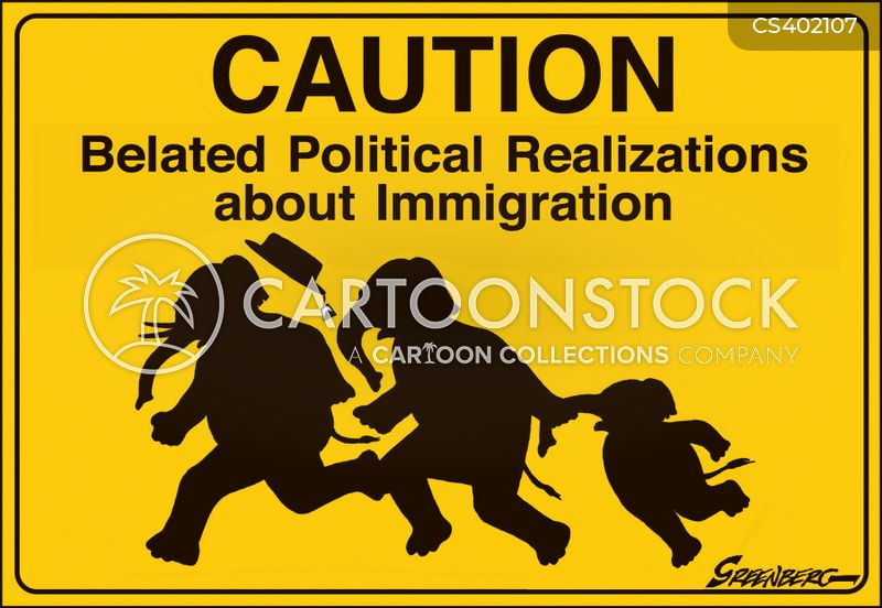 undocumented immigrants cartoon