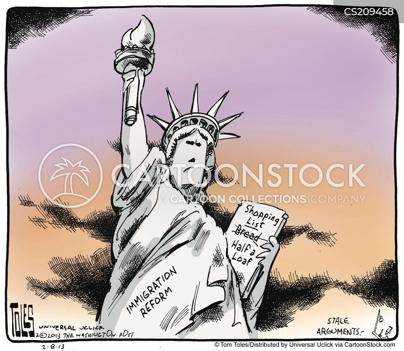 immigration reforms cartoon