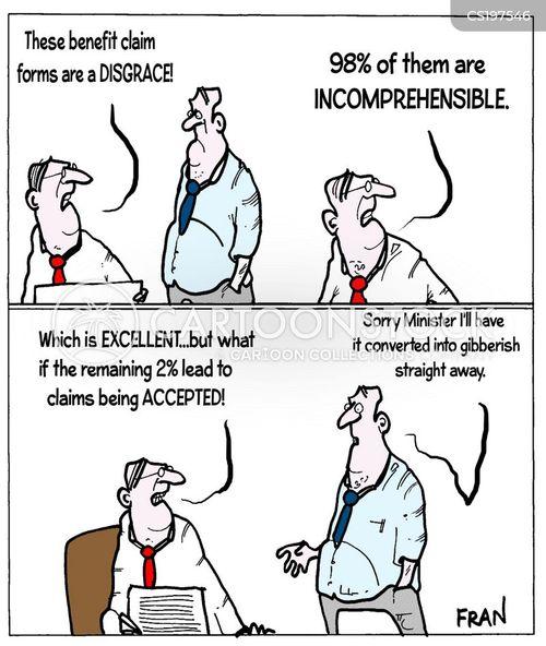 incomprehensible cartoon