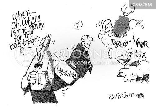 alcohol tax cartoon