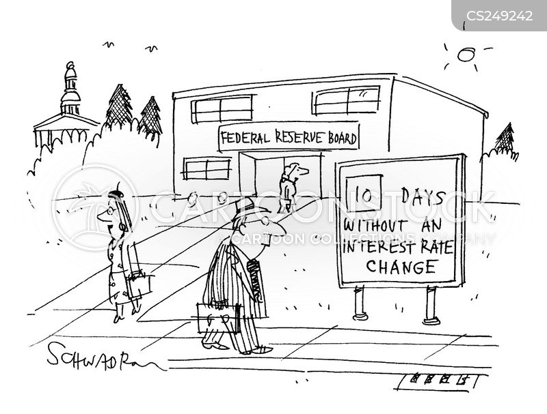 federal reserve boards cartoon