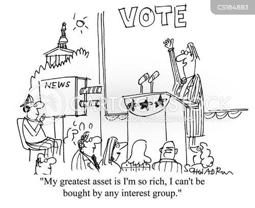 interest group cartoon