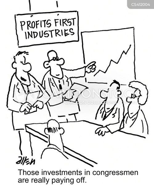 good investment cartoon