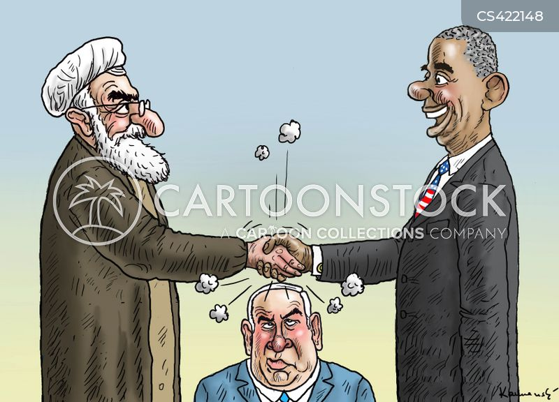 iran nuclear deal cartoon