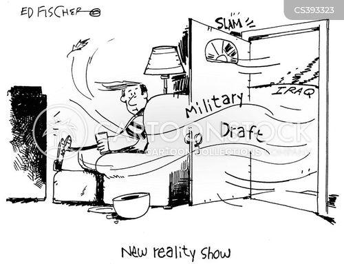 military drafts cartoon