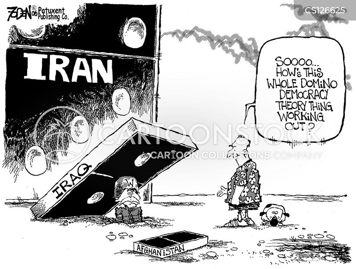 donald rumsfeld cartoon