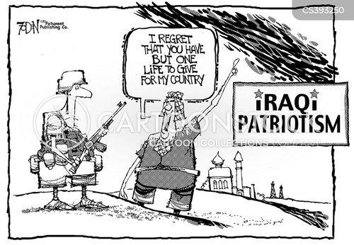 iraq occupation cartoon