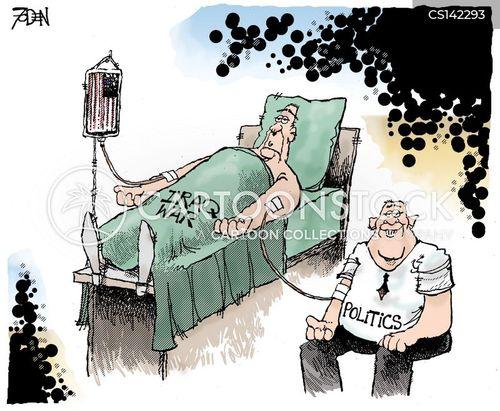 transfusions cartoon