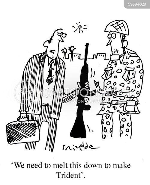 military weapon cartoon