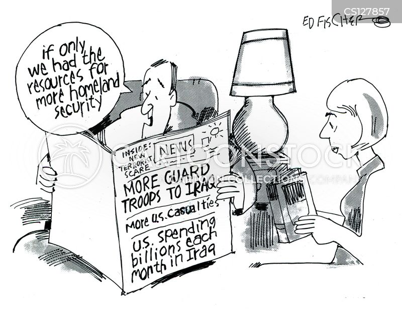 department of homeland security cartoon