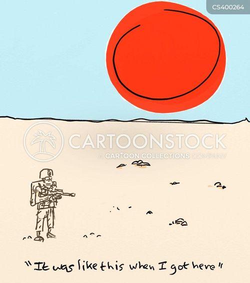 saddam cartoon