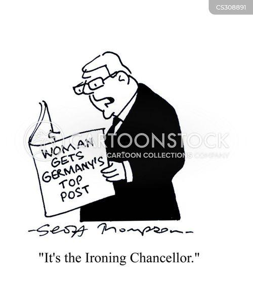 iron chancellor cartoon