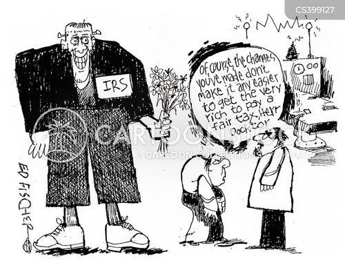 fair shares cartoon