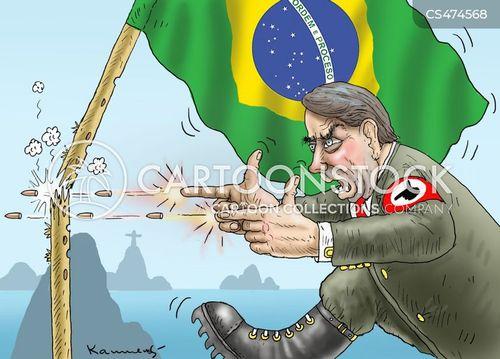 brasil cartoon