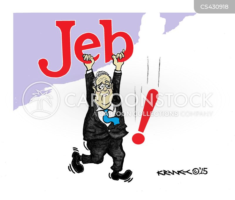 jeb bush cartoon