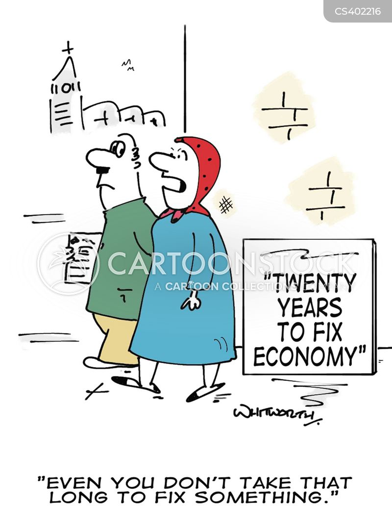 british economy cartoon