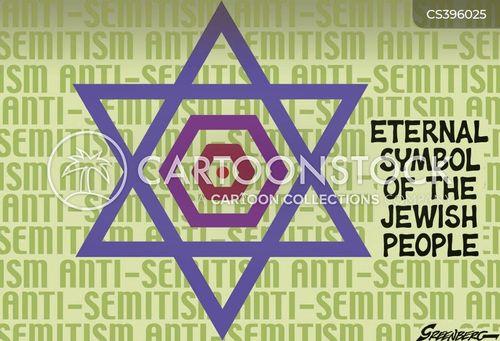 antisemitism cartoon