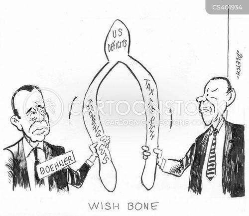 us deficit cartoon