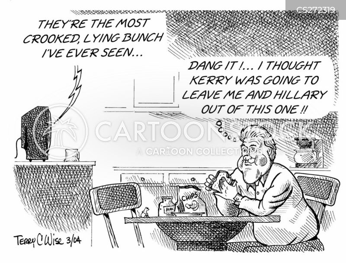 clintons cartoon