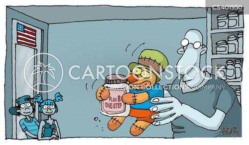 contraceptives cartoon